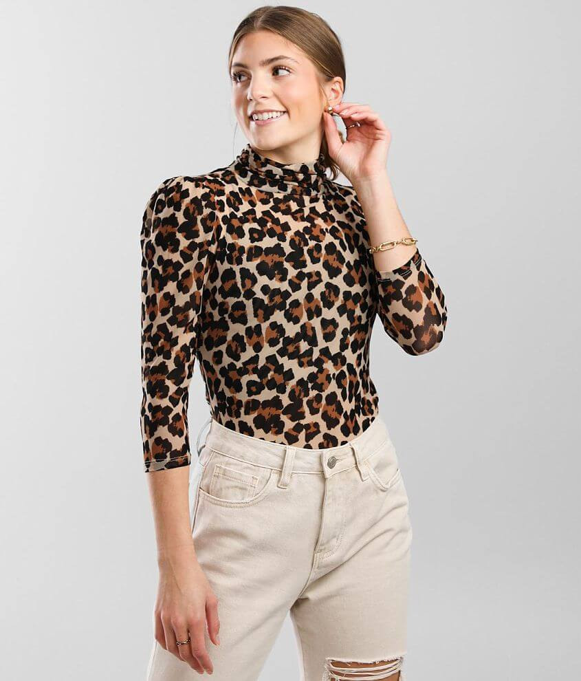 Free People Gather Turtleneck Top front view