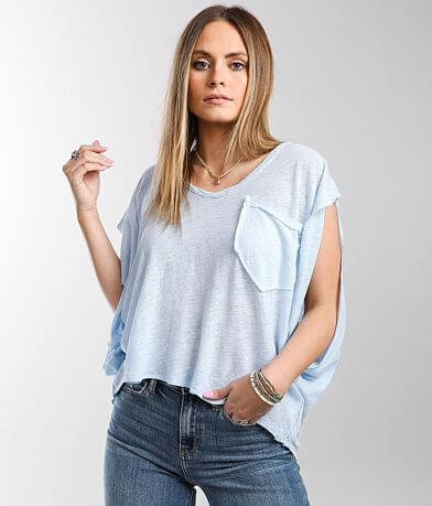 Free People Feelin It Pocket T-Shirt