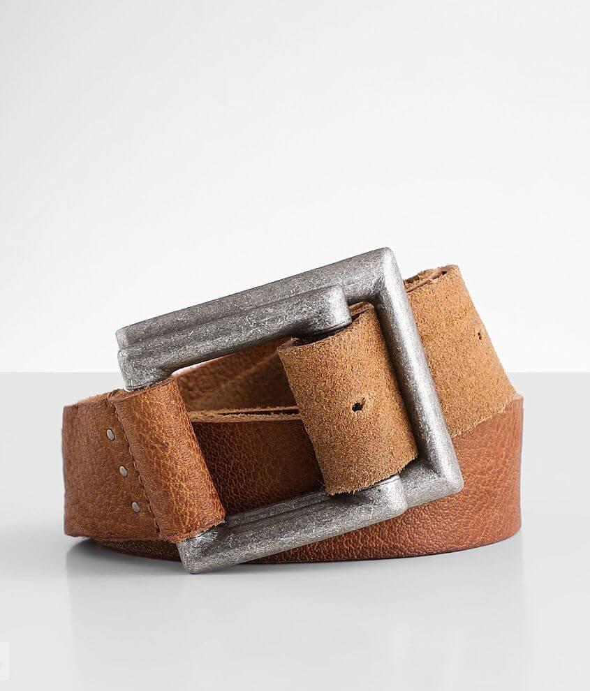 Free People Rowan Leather Belt front view