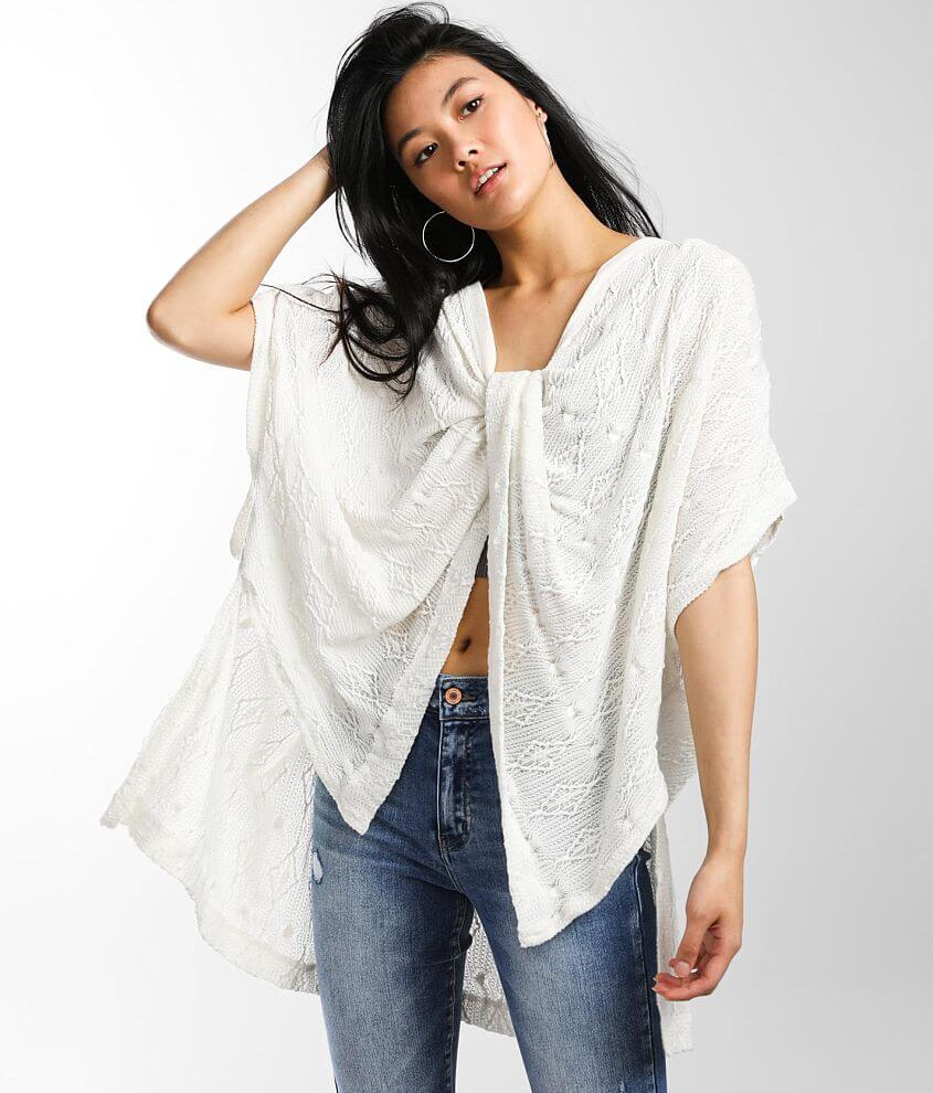 Free People Show Off Twisted Top front view