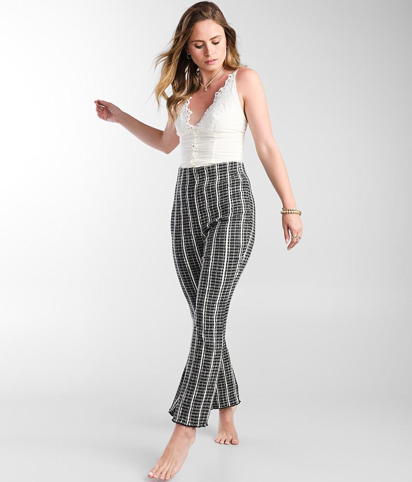 Free People Fine Line Slim Cropped Pant front view