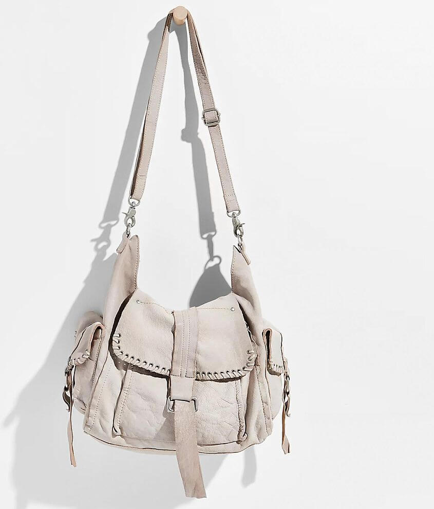 Free People Leigh Leather Purse front view