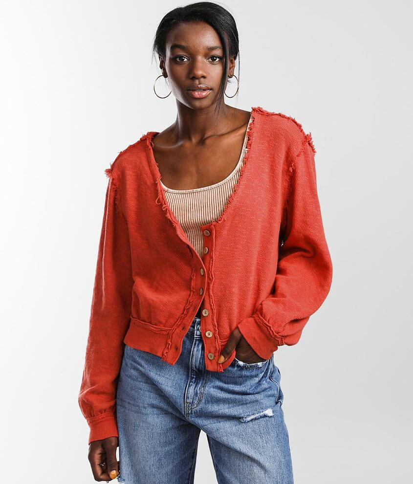 Free People Golden Road Cardigan front view
