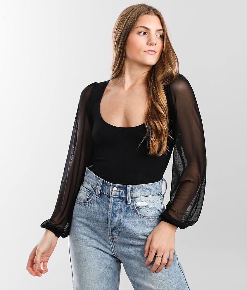 Free People Lost In Love Cropped Top front view