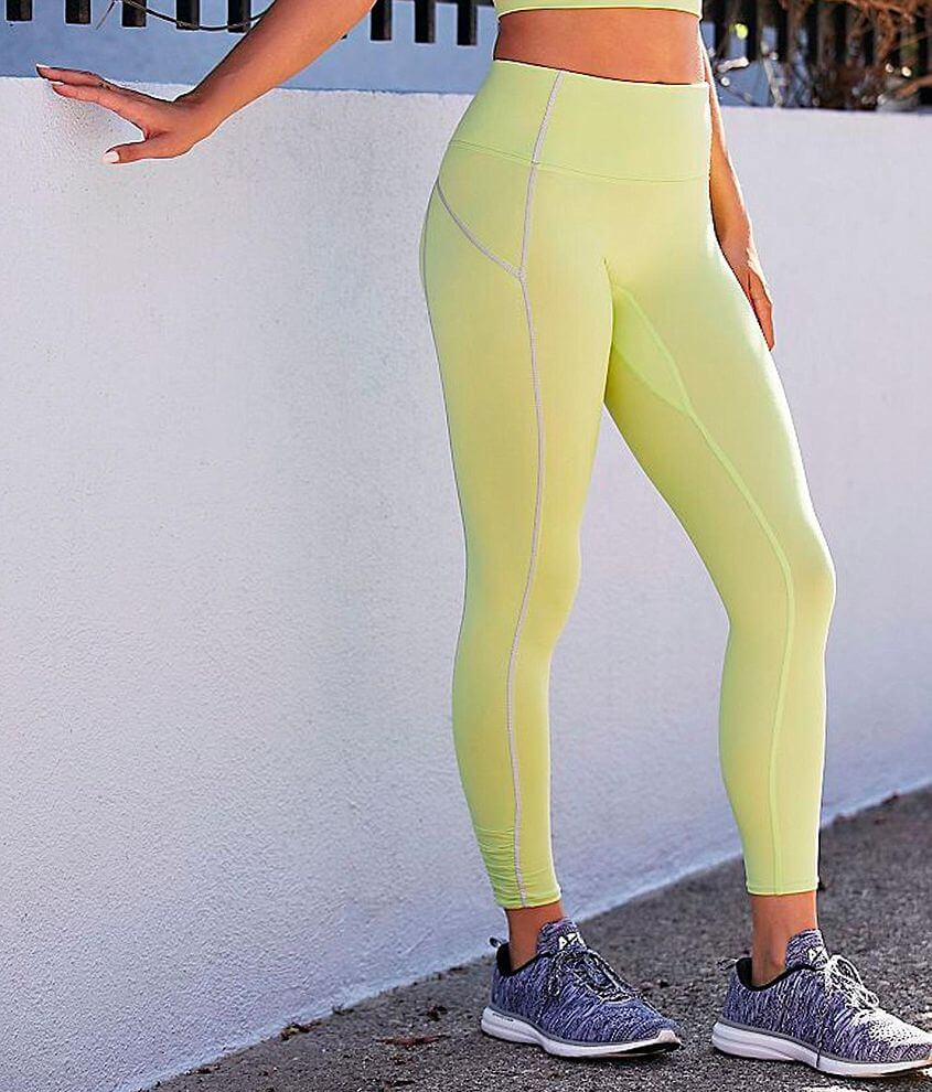 Free People You're A Peach Active Legging front view