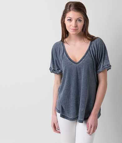 Free People Rolled T-Shirt