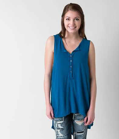 Free People Union Henley Tank Top