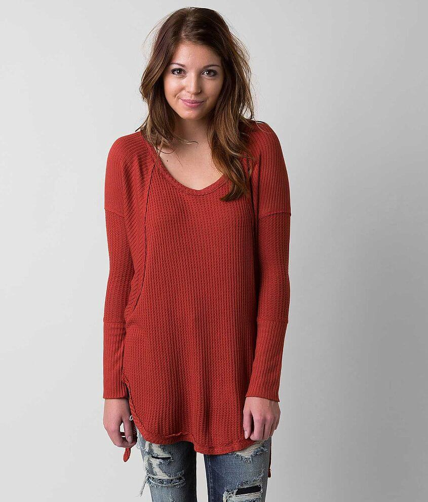 Free People Drippy Thermal Top front view