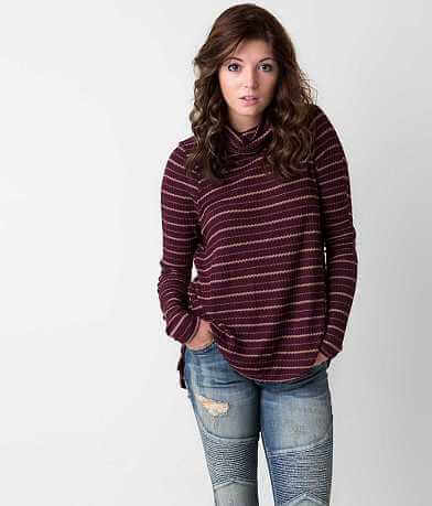 Free People Cowl Neck Top