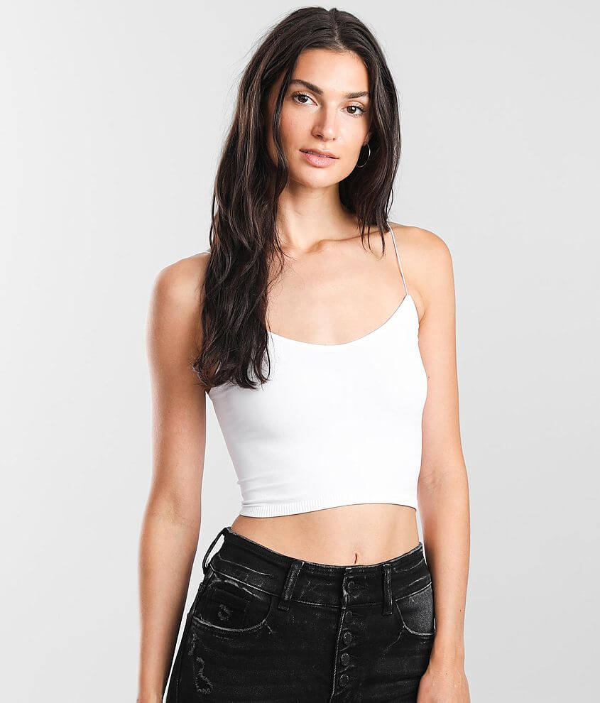 Free People Seamless Bralette front view