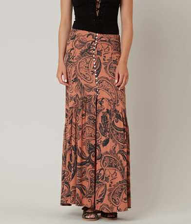 Free People Lisa Crepe Skirt