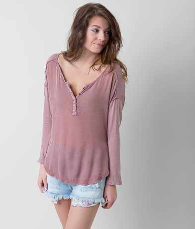 Free People Sunday Henley Top