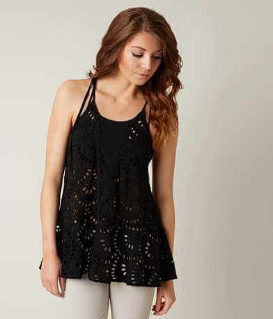 Free People High Neck Tank Top