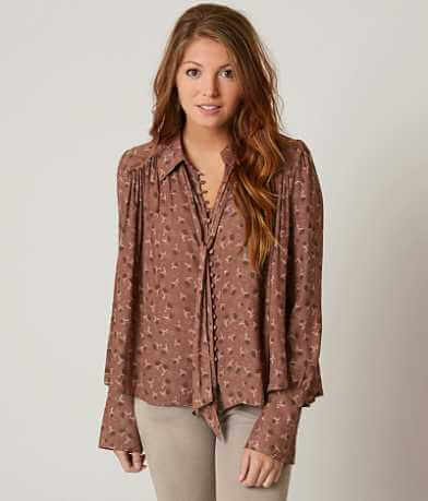 Free People Modern Muse Blouse