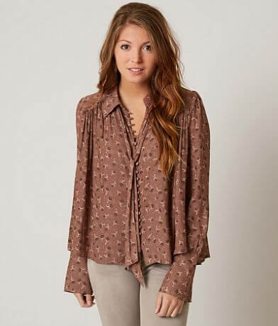 Free People Modern Blouse