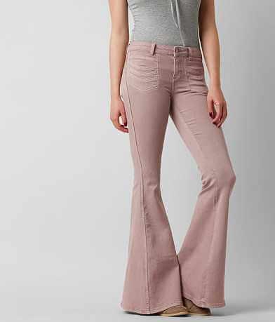 Free People High Rise Stella Flare Stretch Jean