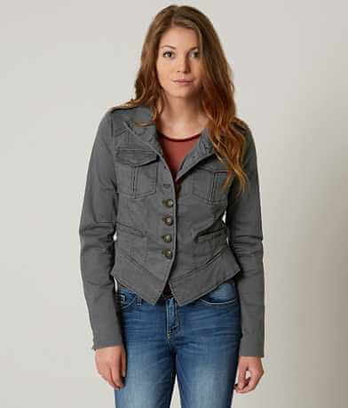 Free People Shrunken Officer Jacket