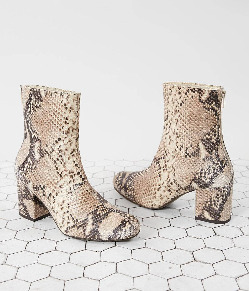 Free People Cecile Leather Ankle Boot front view
