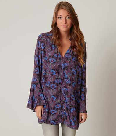 Free People Magic Mystery Tunic Shirt