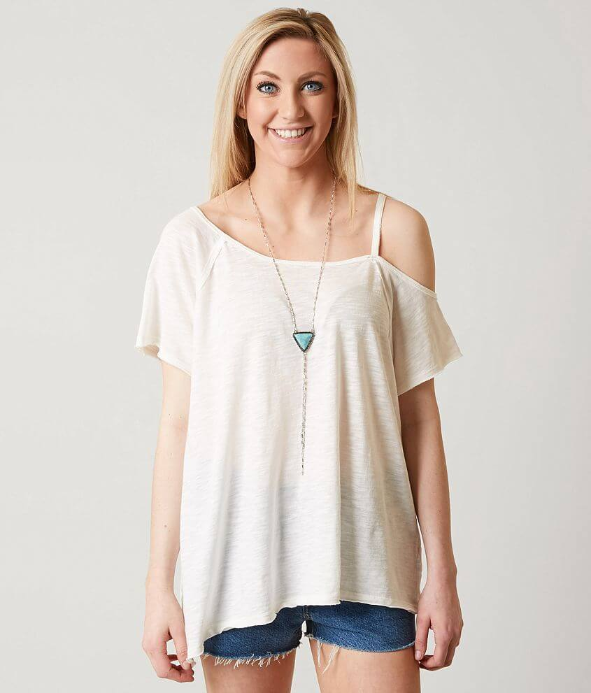 Free People Coraline T Shirt Women S T Shirts In White Buckle