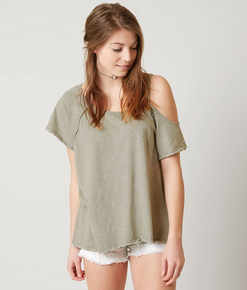 Free People Coraline T Shirt Women S T Shirts In Mint Buckle