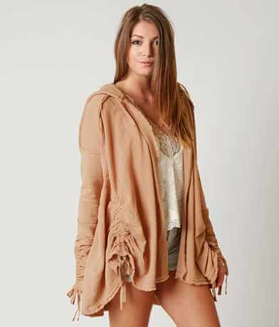 Free People Get Yer Gauze Cardigan