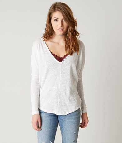 Free People Santa Cruz Henley Top