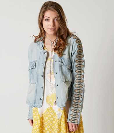 Free People Embroidered Jacket