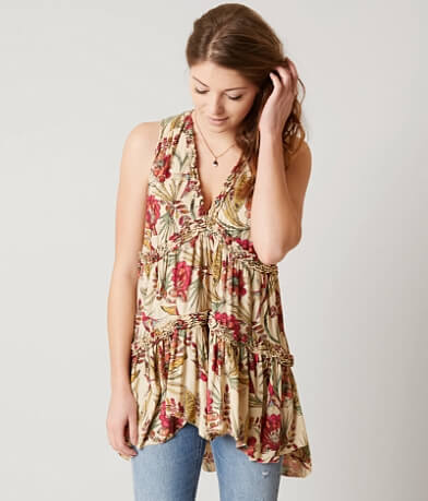 Free People Purple Haze Tank Top