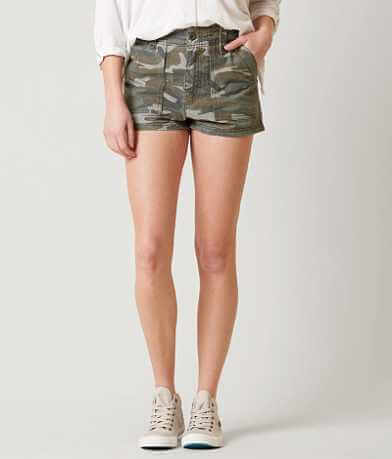 Free People Camo Shorts