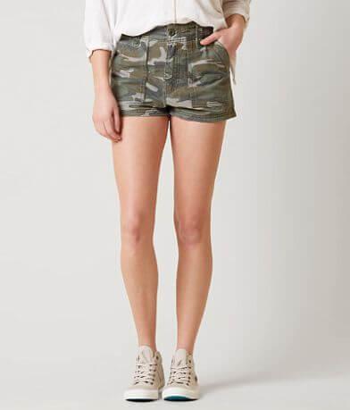 Free People Camo Shorts