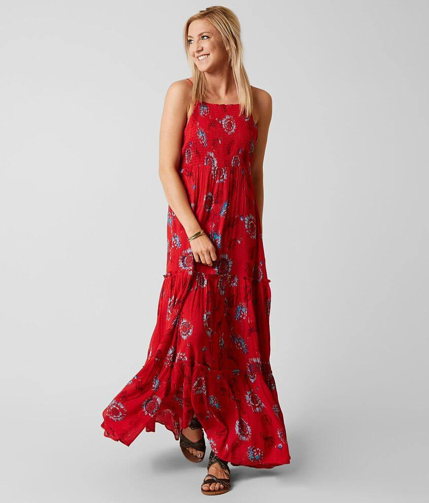 9134444ff58 Free People Garden Party Maxi Dress - Women s Dresses in Red Combo ...