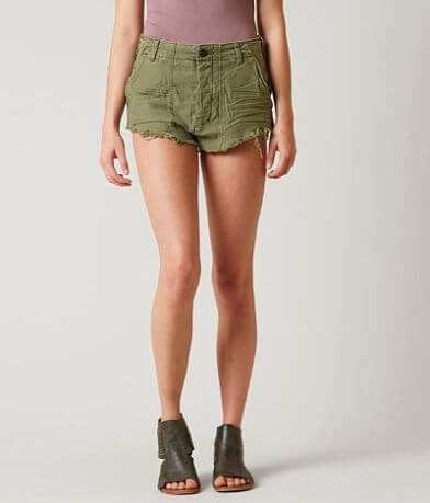 Free People Raw & Patched Short