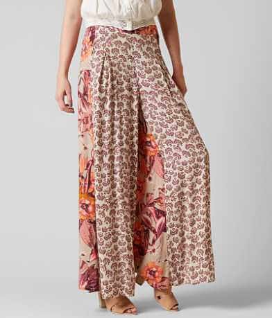 Free People In The Mix Wide Leg Pant