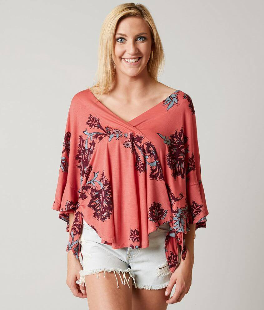 47ffb47d974 Free People Maui Wowie Top - Women's Shirts/Blouses in Passion ...