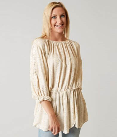 Free People Little Shine Tunic Top