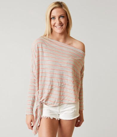 Free People Striped Love Lane Top