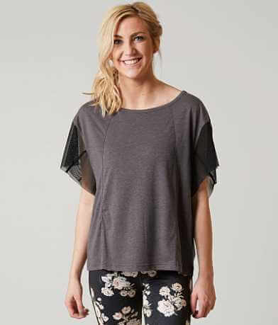 Free People Wild Mesh Top