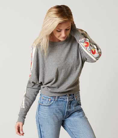 Free People Wall Flower Sweatshirt