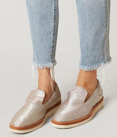 Free People Snake Eyes Leather Shoe