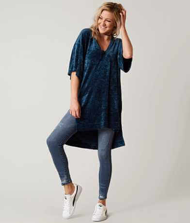 Free People Luxe Tunic Top