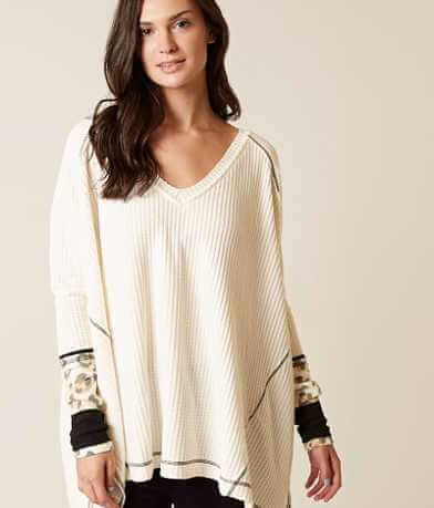 Free People Cozy Thermal Top
