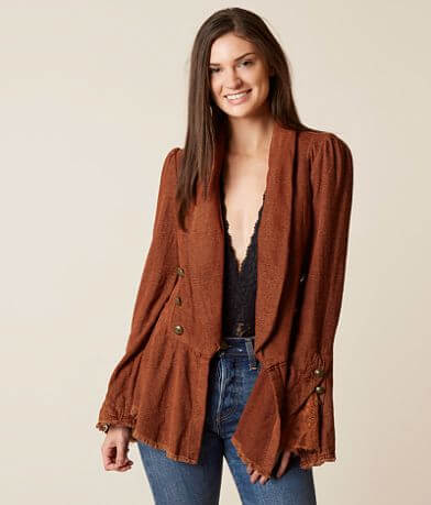 Free People Flared Blazer