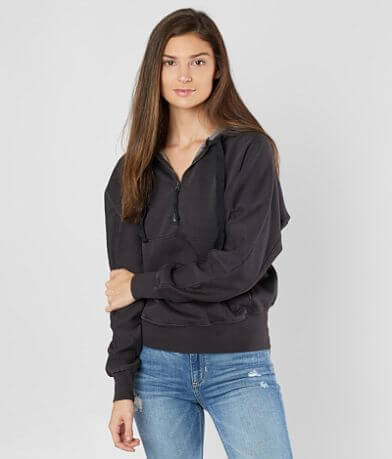 Free People Think Future Hooded Sweatshirt