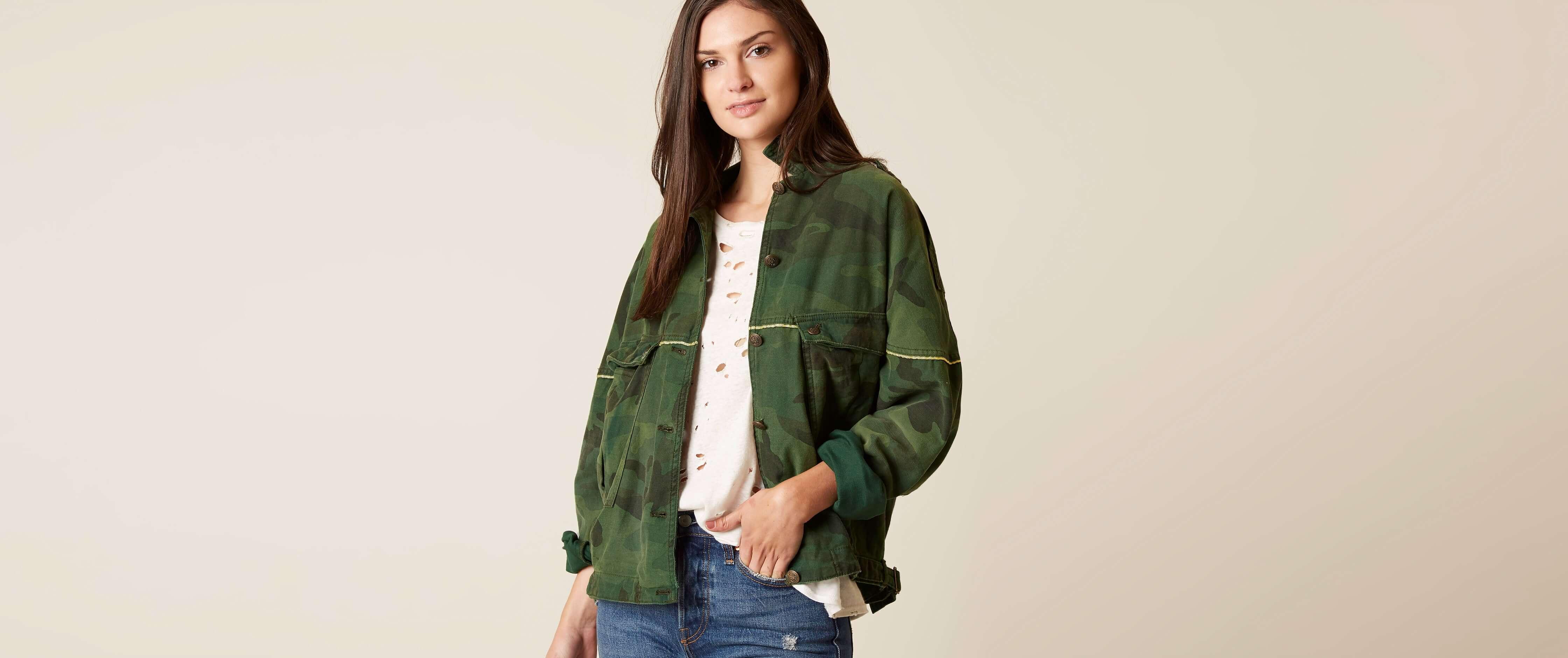 Female military coats