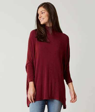 Free People Turtle Neck Tunic Top