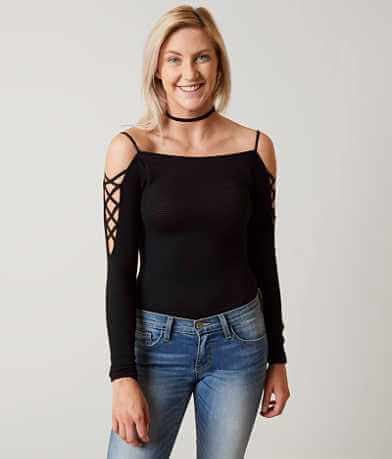 Free People Fitted Top