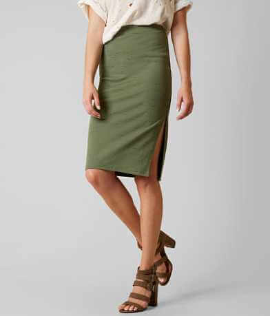 Free People Jersey Pencil Skirt