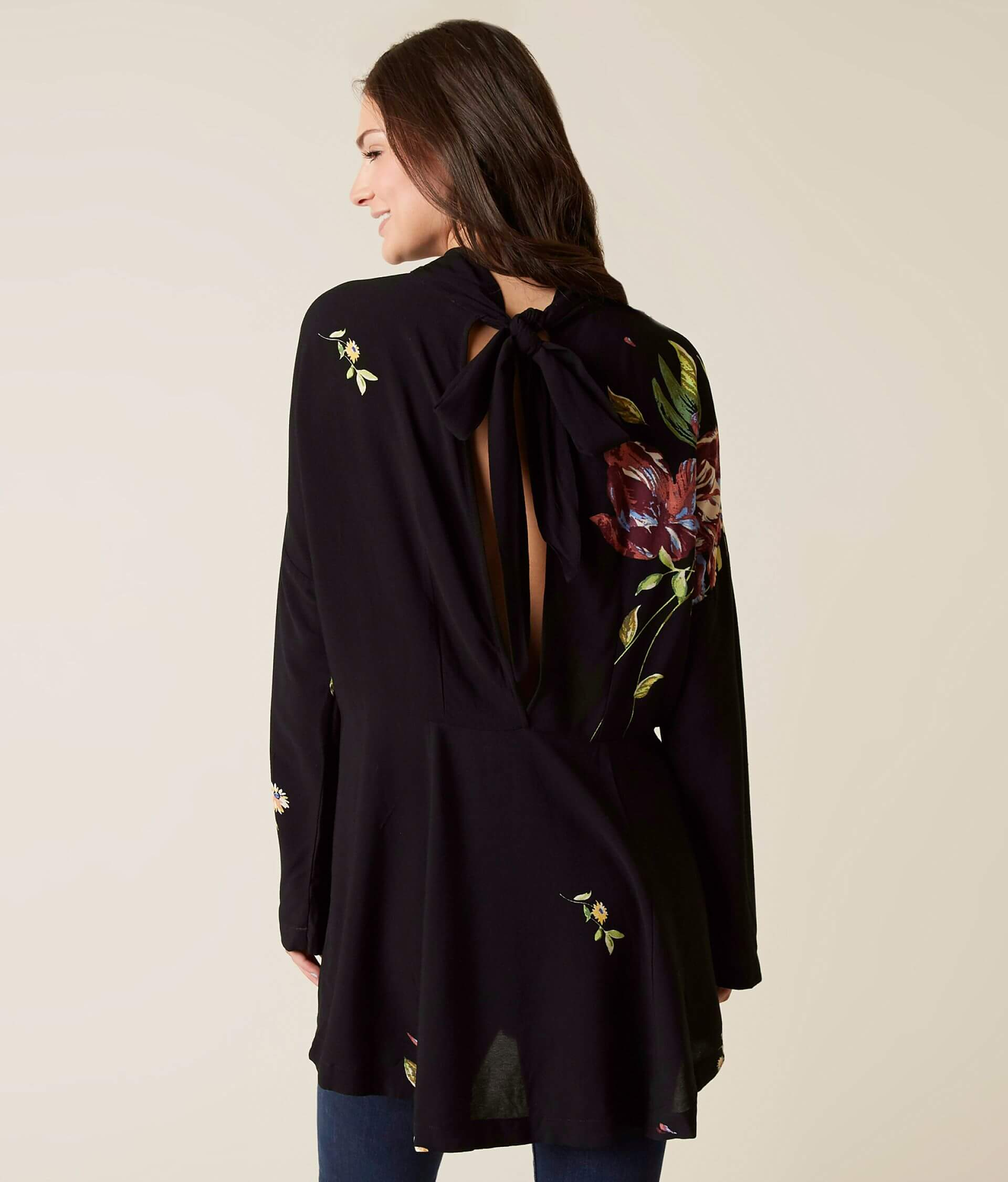 f8641d516f1 Free People Gemma Tunic Top - Women's Shirts/Blouses in Black   Buckle