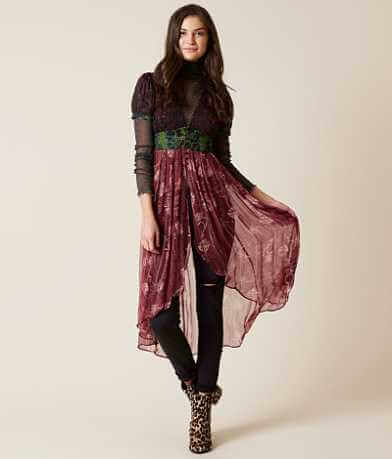Free People Daisy Fields Maxi Top